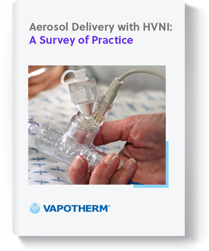 PDF Cover - Aerosol Delivery with HVNI - A Survey of Practive