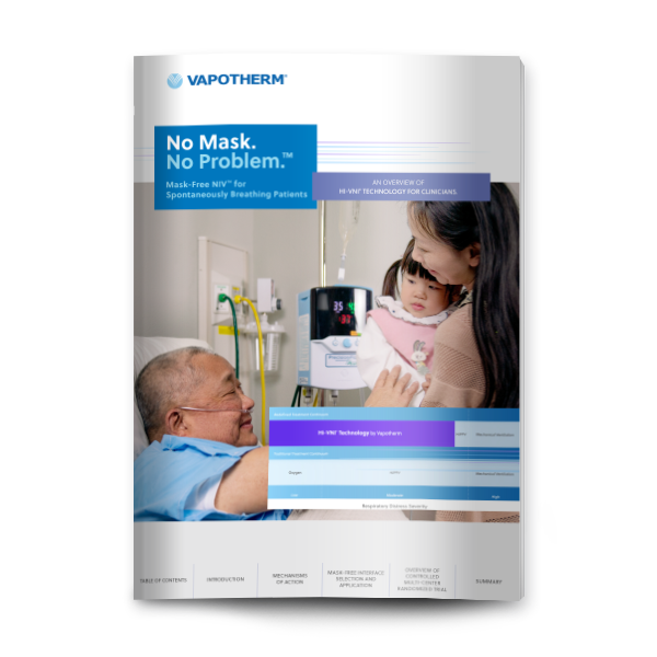 Vapotherm's No Mask No Problem eBook